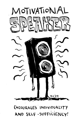 speaker  the transduction of electrical signals into sound